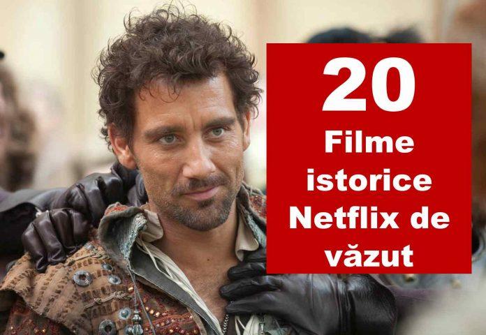 top filme istorice netflix