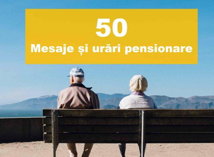 mesaje de pensionare urari pensionare